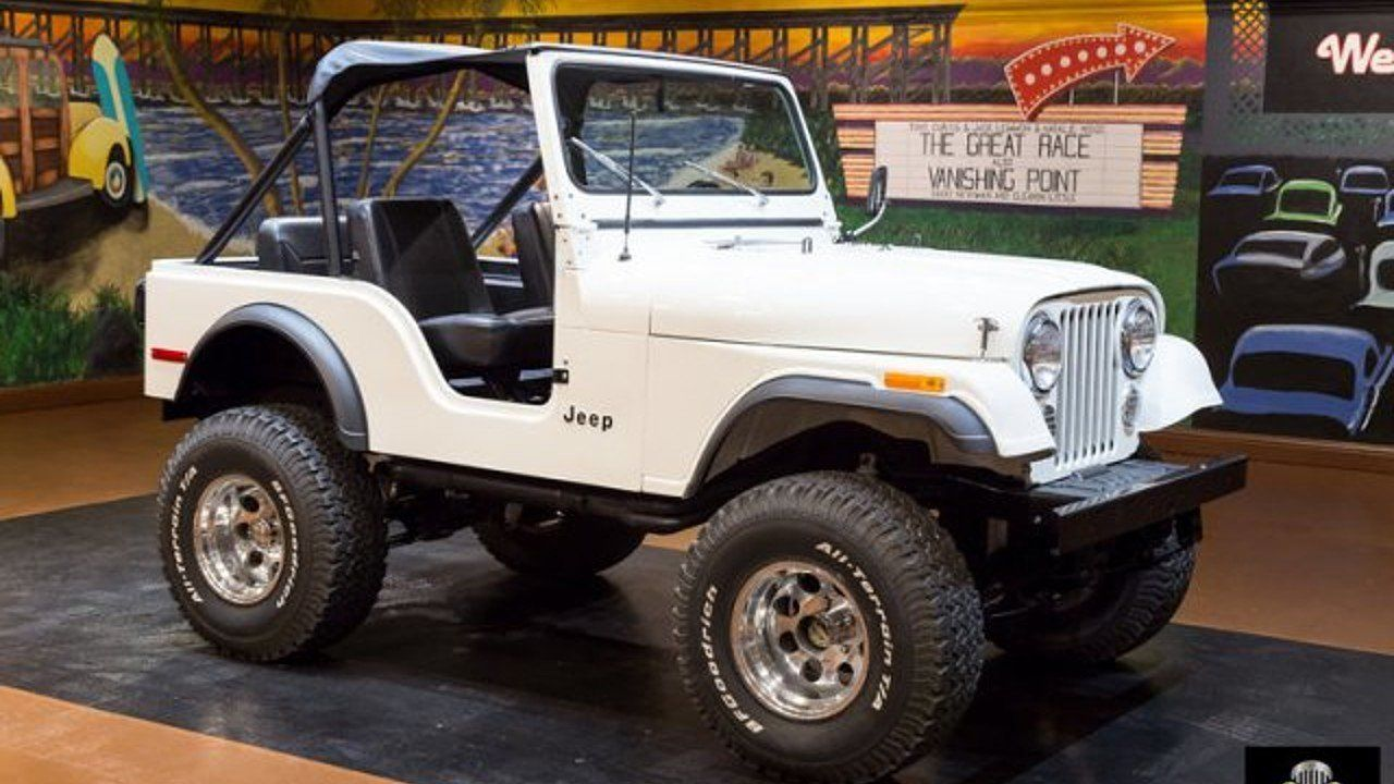 1977 Jeep Cj 5 For Sale Near Orlando Florida 32837 Classics On