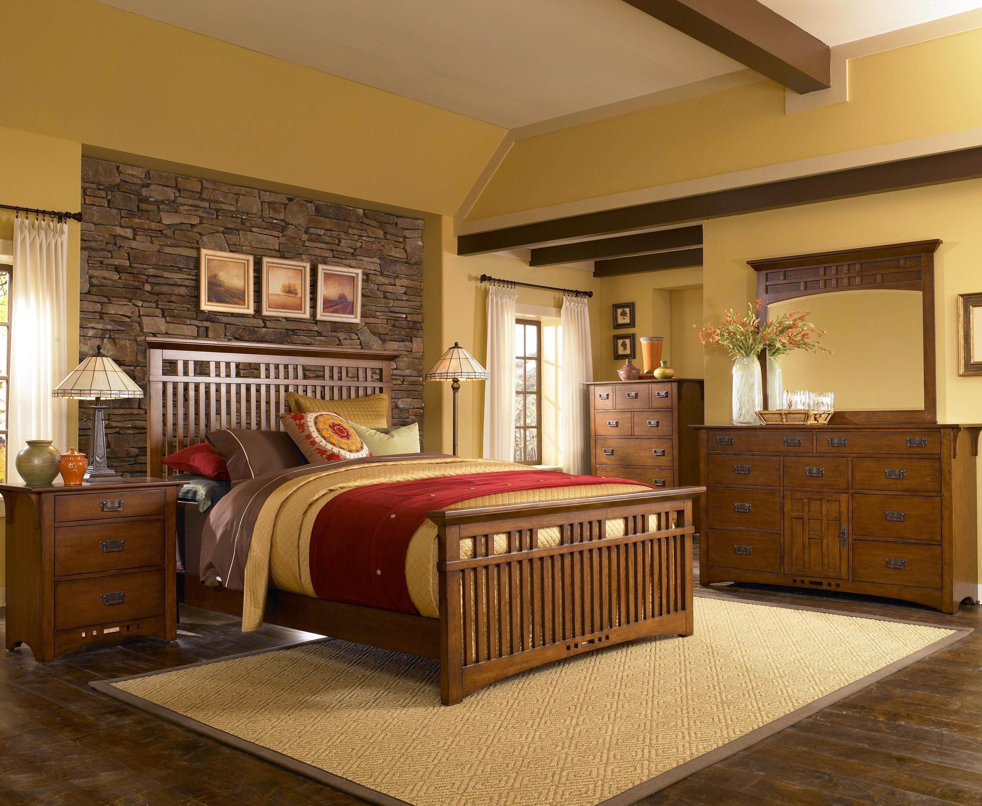 Mission Bedroom By Broyhill Furniture Bedroom Broyhill Furniture Wood Bedroom Sets Bedroom Sets