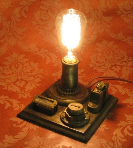 Vintage And Industrial Lighting From Etsy: Edison Conrow Desk Lamp Vintage Antique Light Victorian
