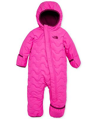 55d5c61700ae0 The North Face Baby Girls' Toasty Toes Snowsuit | Baby (girl) | Baby ...