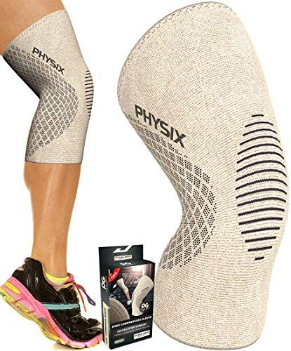 Physix Gear Knee Support Brace - Premium Recovery & Compression Sleeve For Meniscus Tear, ...