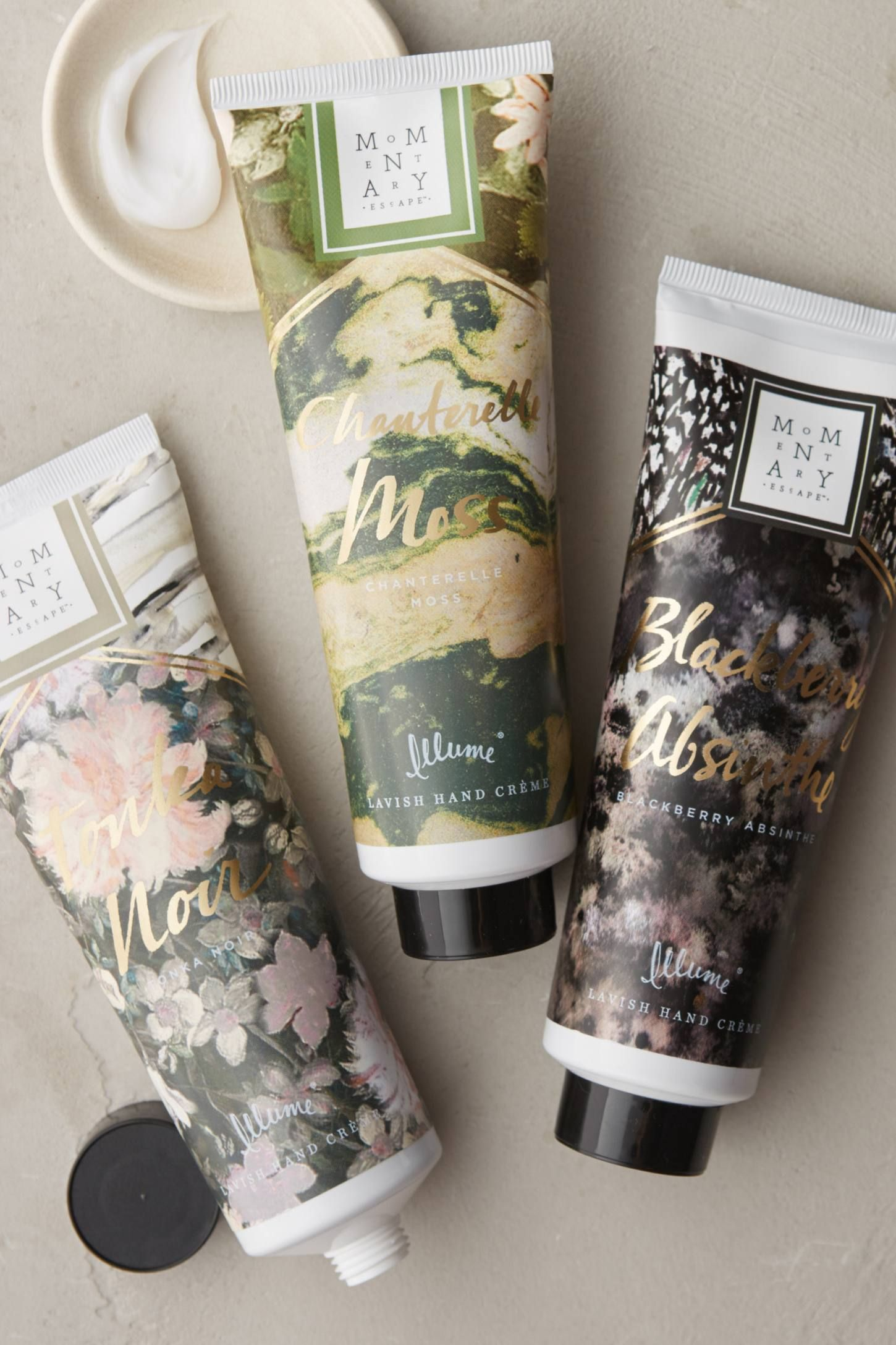 Momentary Escape Hand Cream Cosmetic packaging, Lotion