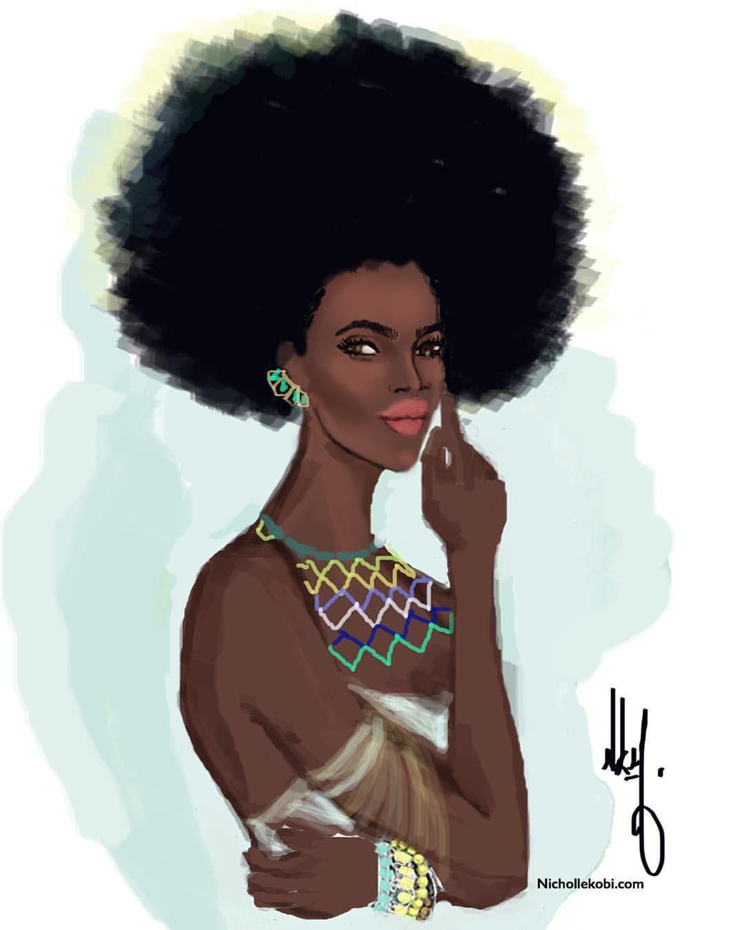 Be your own beauty standard  #nichollekobi #illustration