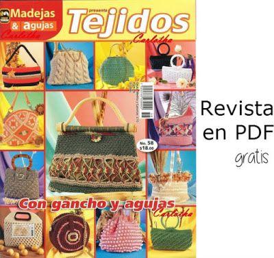 descarga gratis revista de bolsos tejidos en pdf | libros y revistas ...