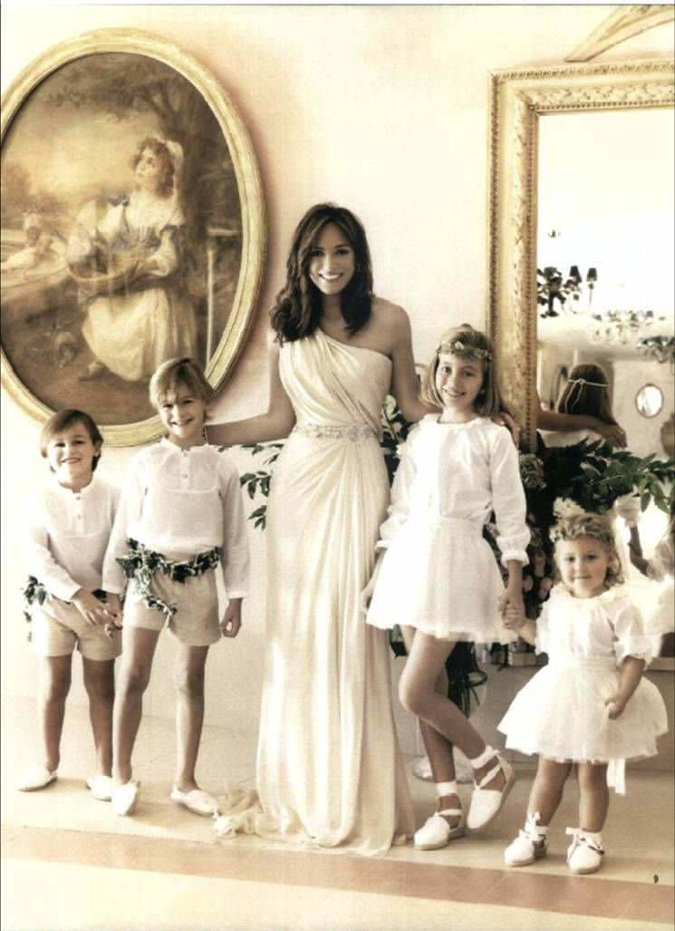 Isabel Preysler Wedding Dress