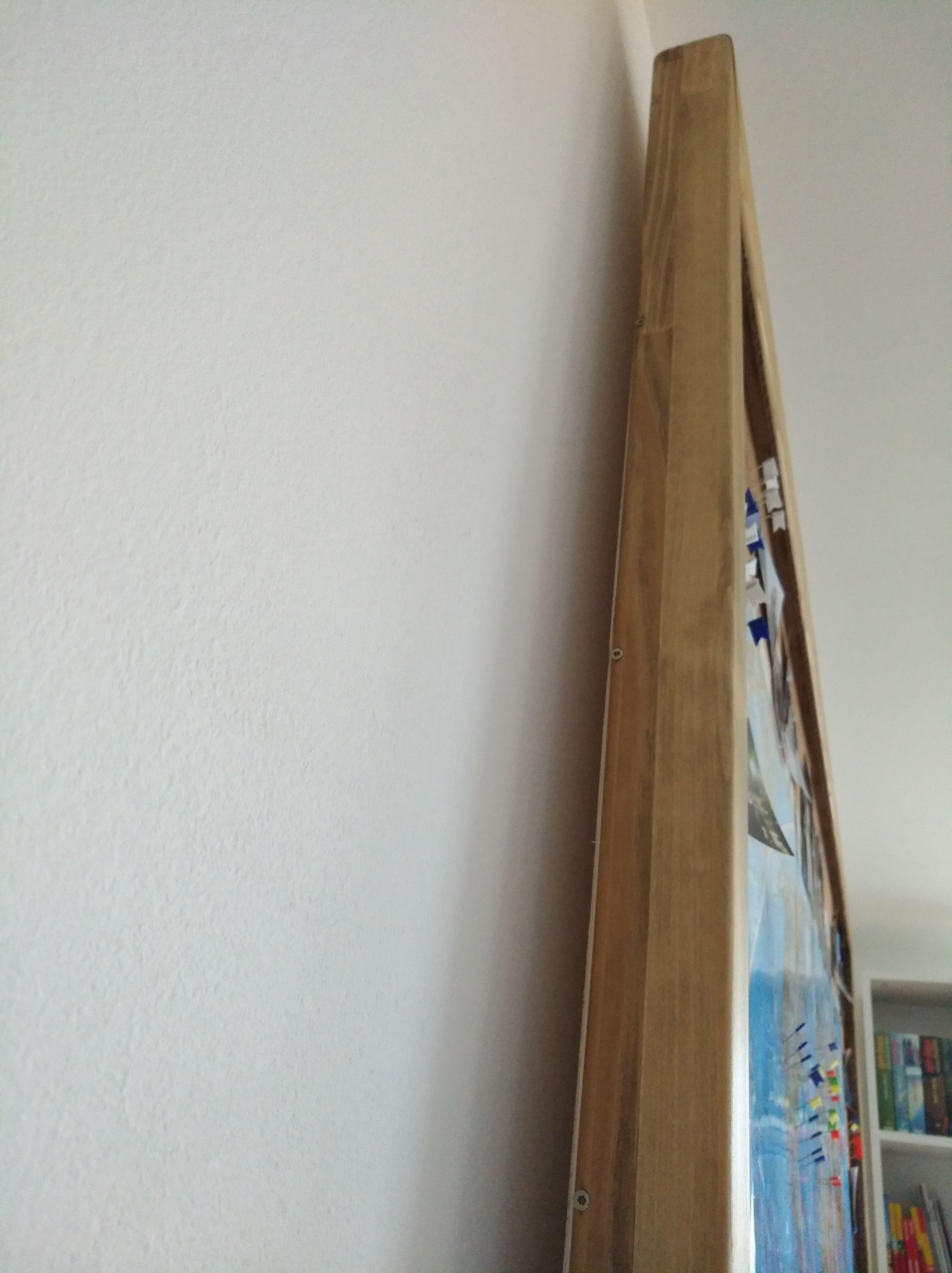 Pinnwand, #Rahmen Nach dem Zusägen der Leisten die Löcher bohren und ...