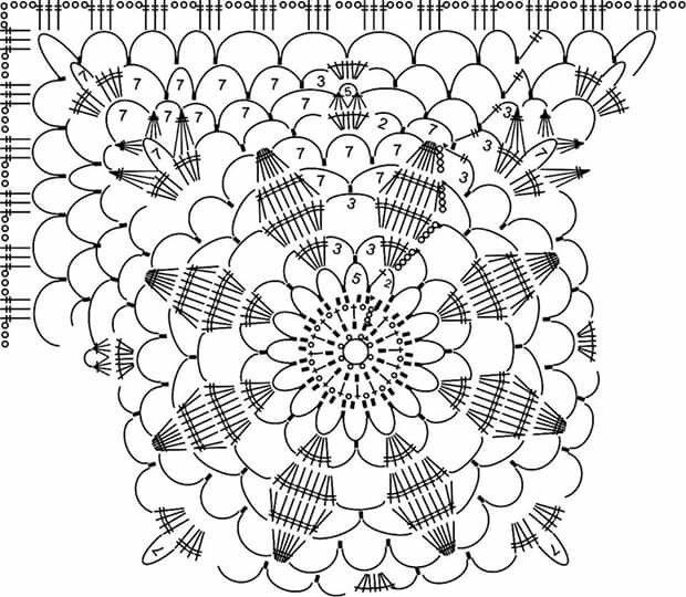 blusa celeste con flor central   Blusas y Remeras   Pinterest   Flor ...
