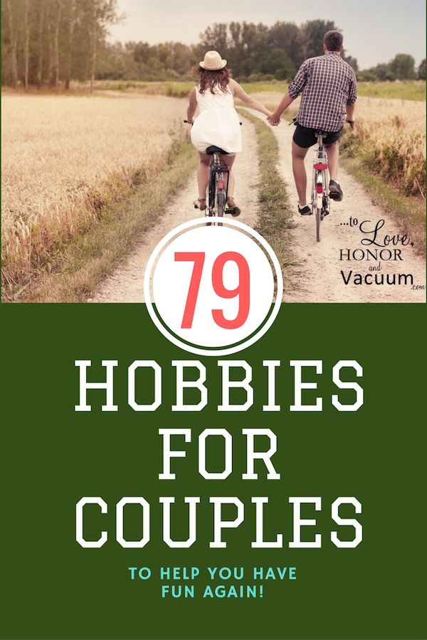 fun hobbies for couples