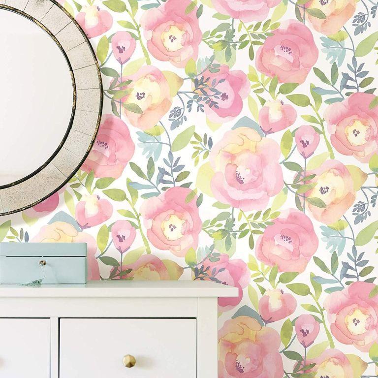 10 Best Selling Vintage Floral Wallpapers On Amazon Cozy Home 101 Vintage Floral Wallpapers Peel And Stick Wallpaper Nuwallpaper