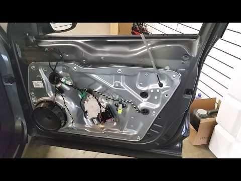 251 2009 2017 Volkswagen Tiguan Metal Door Frame Plastic Interior Door Panel Removed Upgrade Speaker Youtube Volkswagen Repair Paneling