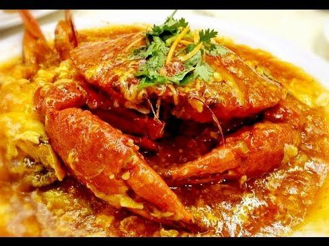 Singapore Chilli Crabs Recipe Crab With Sweet Spicy Chili Sauce Youtube Resep Makanan Resep Makanan Minuman