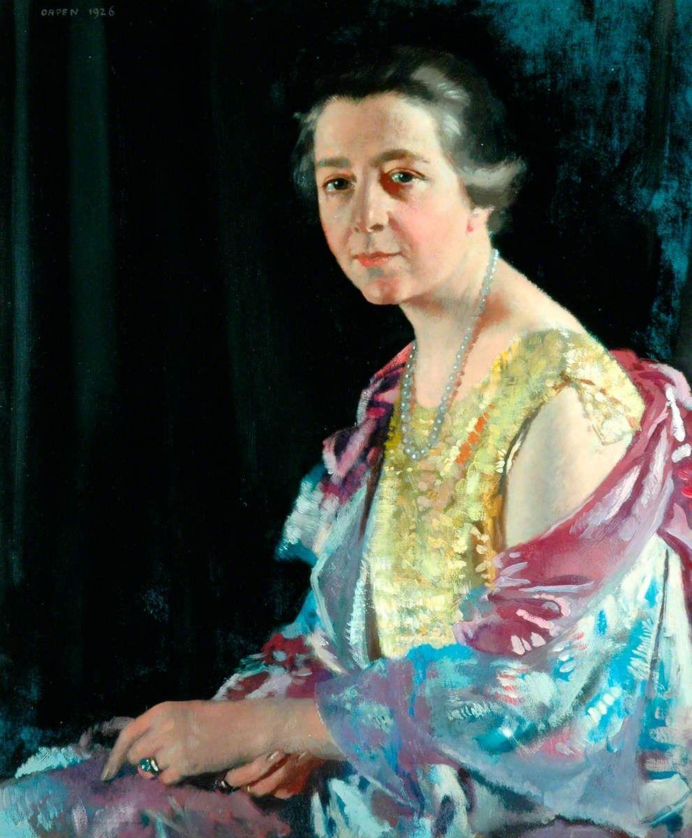 Mrs Thomas Howarth William Orpen Art uk, Sargent art
