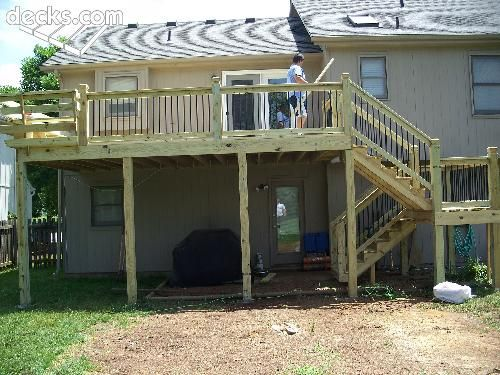 About The Right Size Deck Stairs Deck Steps Outdoor Deck Decorating