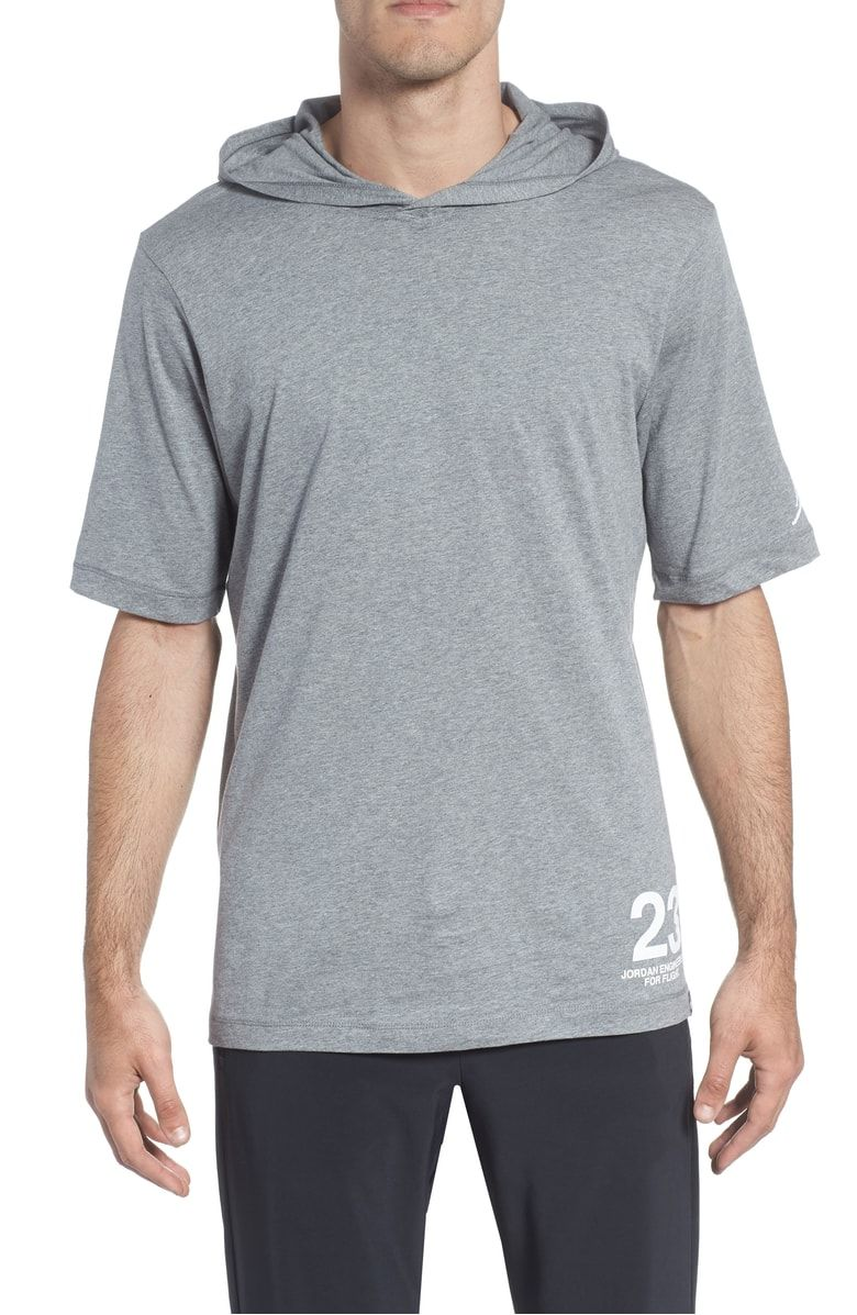b96d692fed2 Nike Jordan Sportswear 23 Hooded T-Shirt @Nordstrom. Look and feel great,  on or off the court, in this short-sleeve hoodie that keeps you cool and  dry with ...