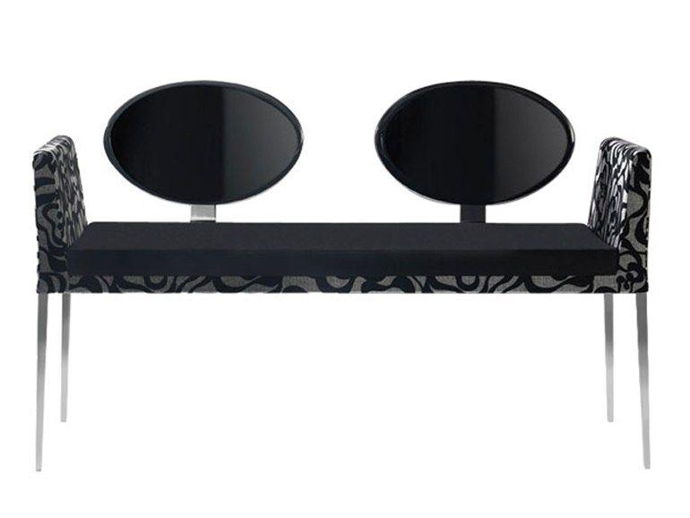 Capdell | Eboli CollectionEBOLI | Small SofaWooden Small Sofa, Design By  Vicente Soto