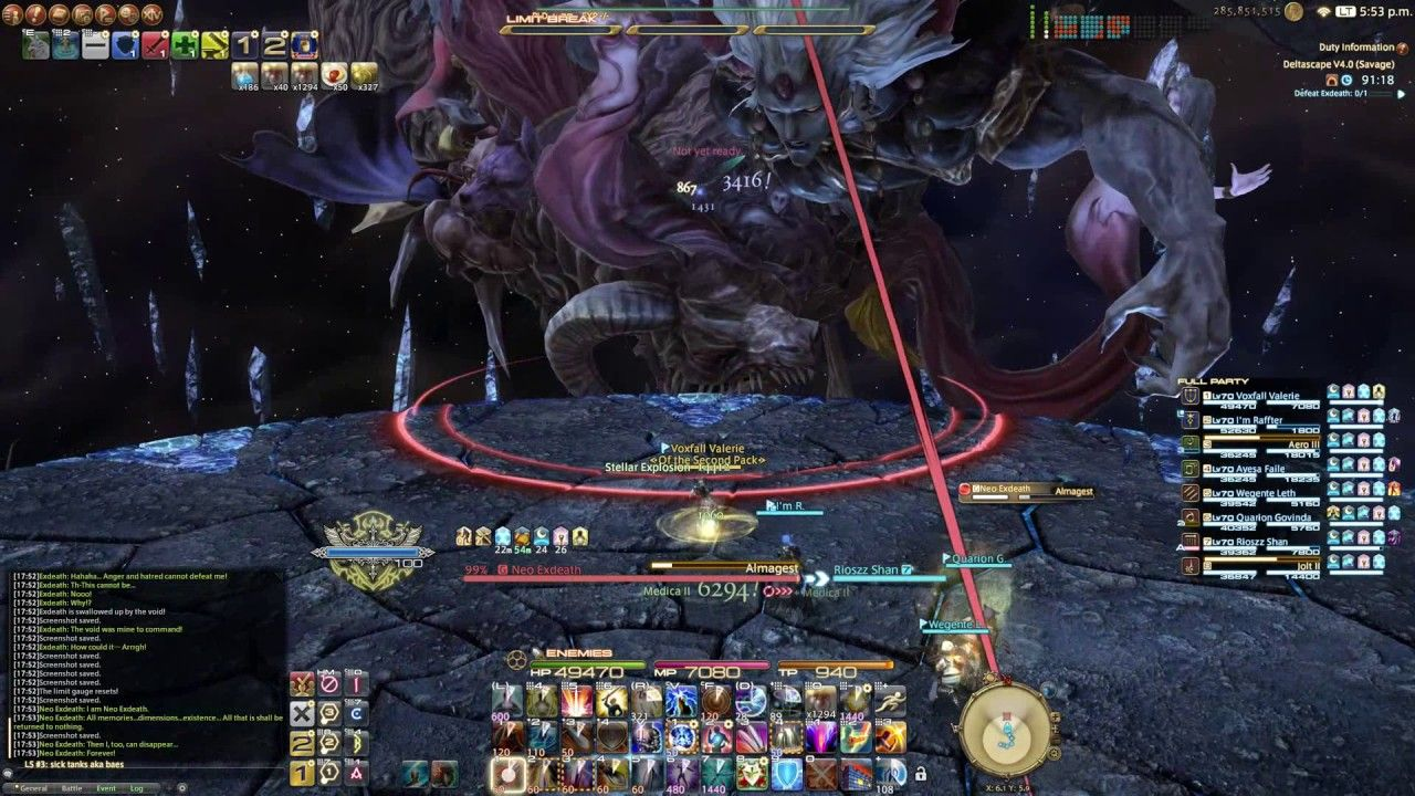 The final raid boss in FF14 is sick looking  | Gaming News