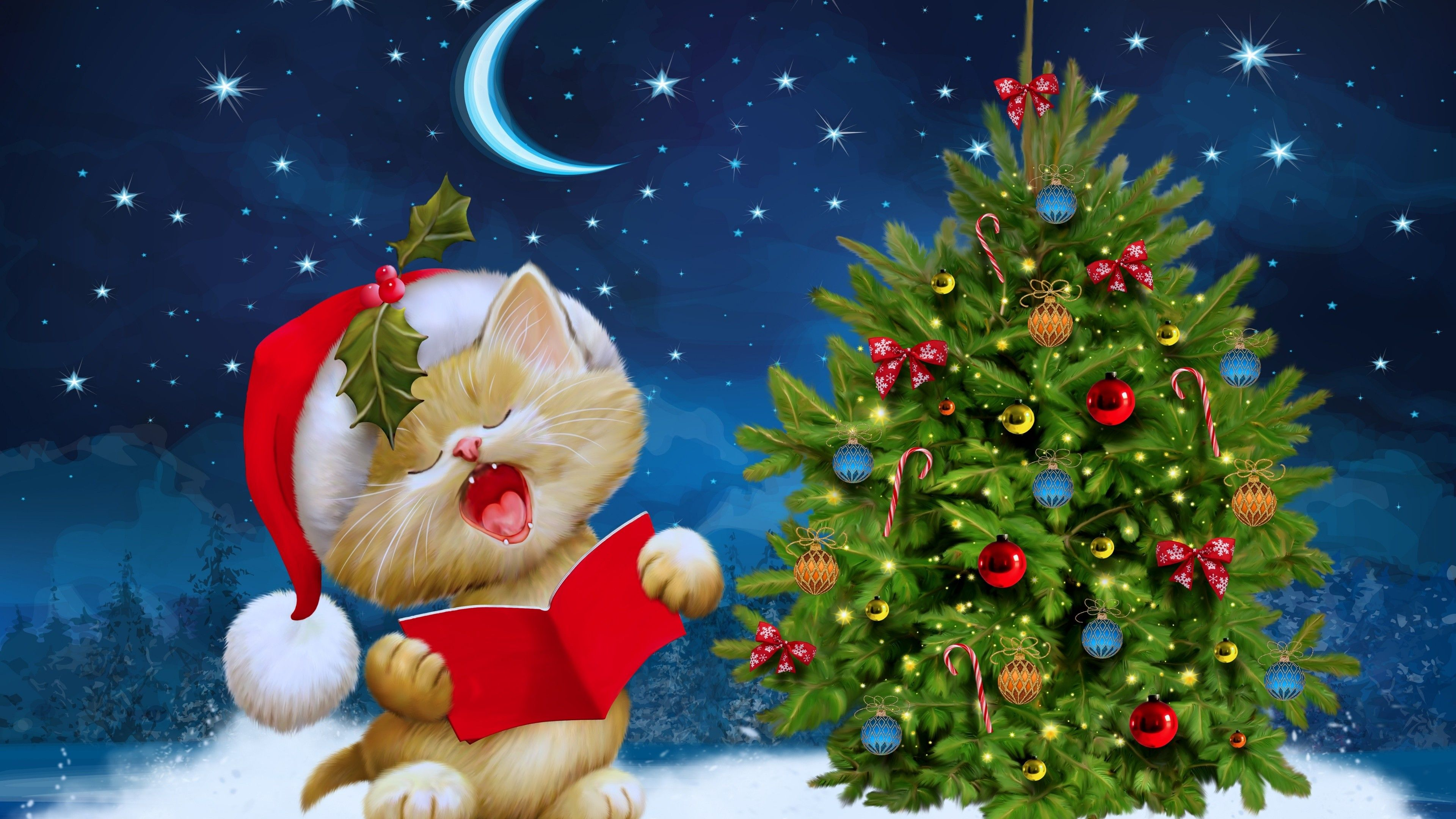 3840x2160 Ultra Hd 4k 3840x2160 Merry Christmas Photos Christmas Wallpaper Hd Merry Christmas Wallpaper