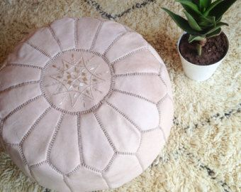 Poufs, Ottomans, Pillows by Zine <3 Handmade Moroccan Rugs and Homeware by Zine Interiors - zineinteriors.etsy.com