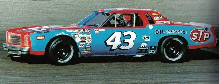 Richard Petty Reverse Scheme Phoenix Piston Cup