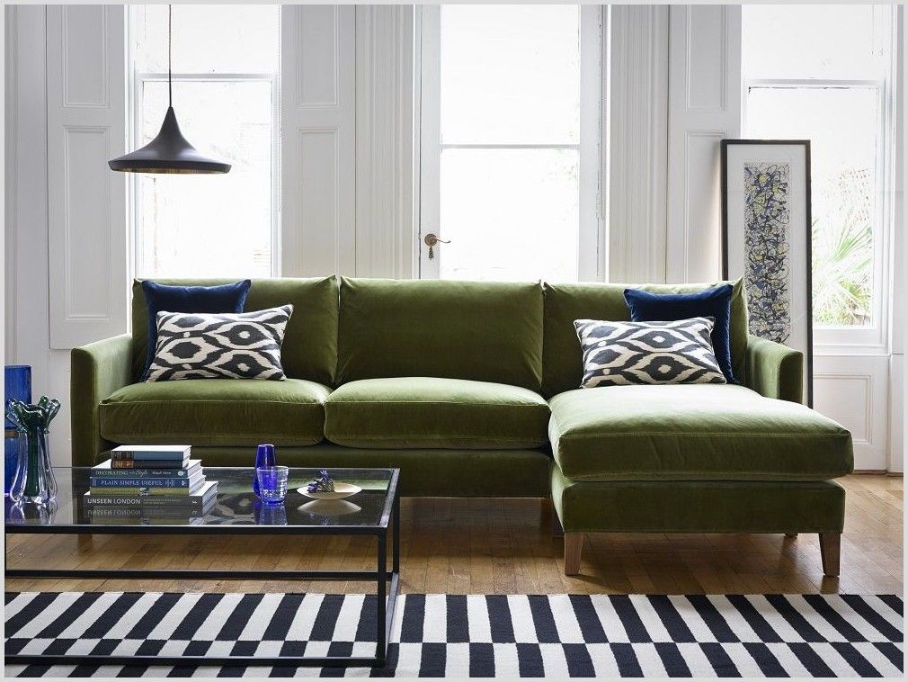 62 Reference Of Couch Living Room Olive Green In 2020 Green Sofa Green Furniture Living Room Green Couch Living Room