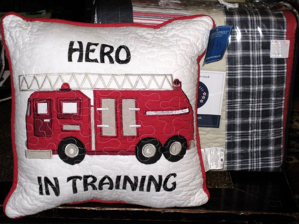 Details About New Twin Sheet Set Fire Truck Police Car