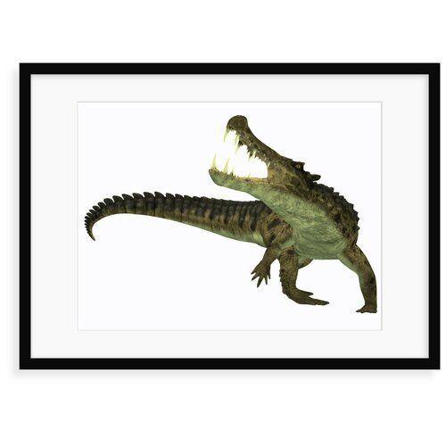 Poster Kaprosuchus is an Extinct Genus of Crocodile von Corey Ford 17 Stories Format: Gerahmtes Pap