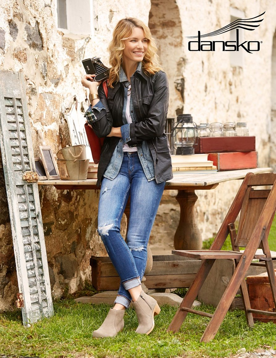 18ecc659b6e Complete a cooler weather outfit with the Dansko Maria bootie.