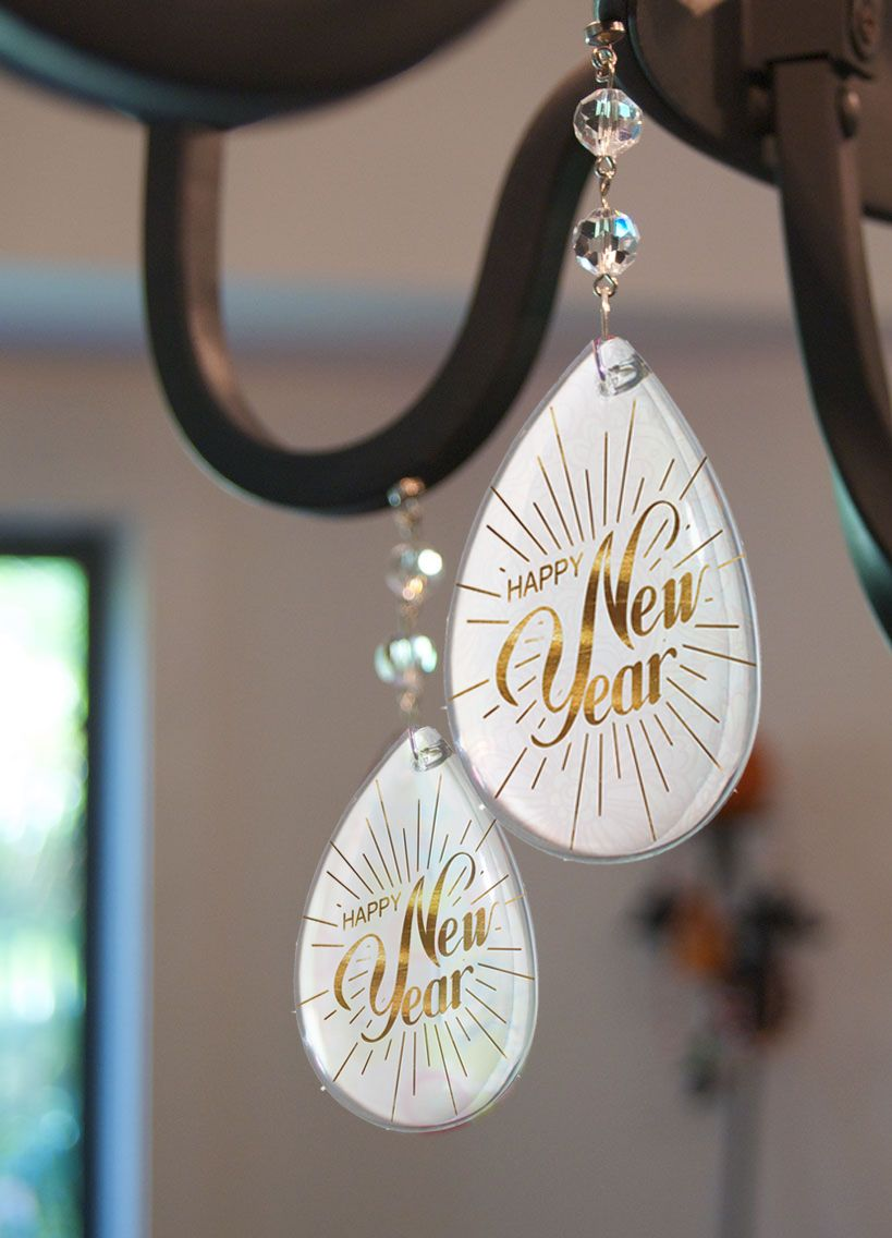 Happy new year magnetic chandelier charms lets make 2017 a great happy new year magnetic chandelier charms lets make 2017 a great one aloadofball Choice Image