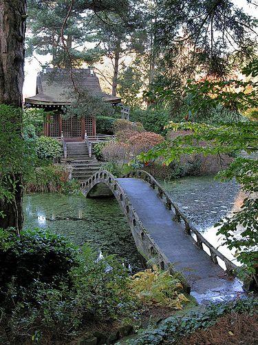 Tatton Park Japanese garden Jardines japoneses, Fotografía de