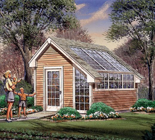 Greenhouse Attached To House Plans