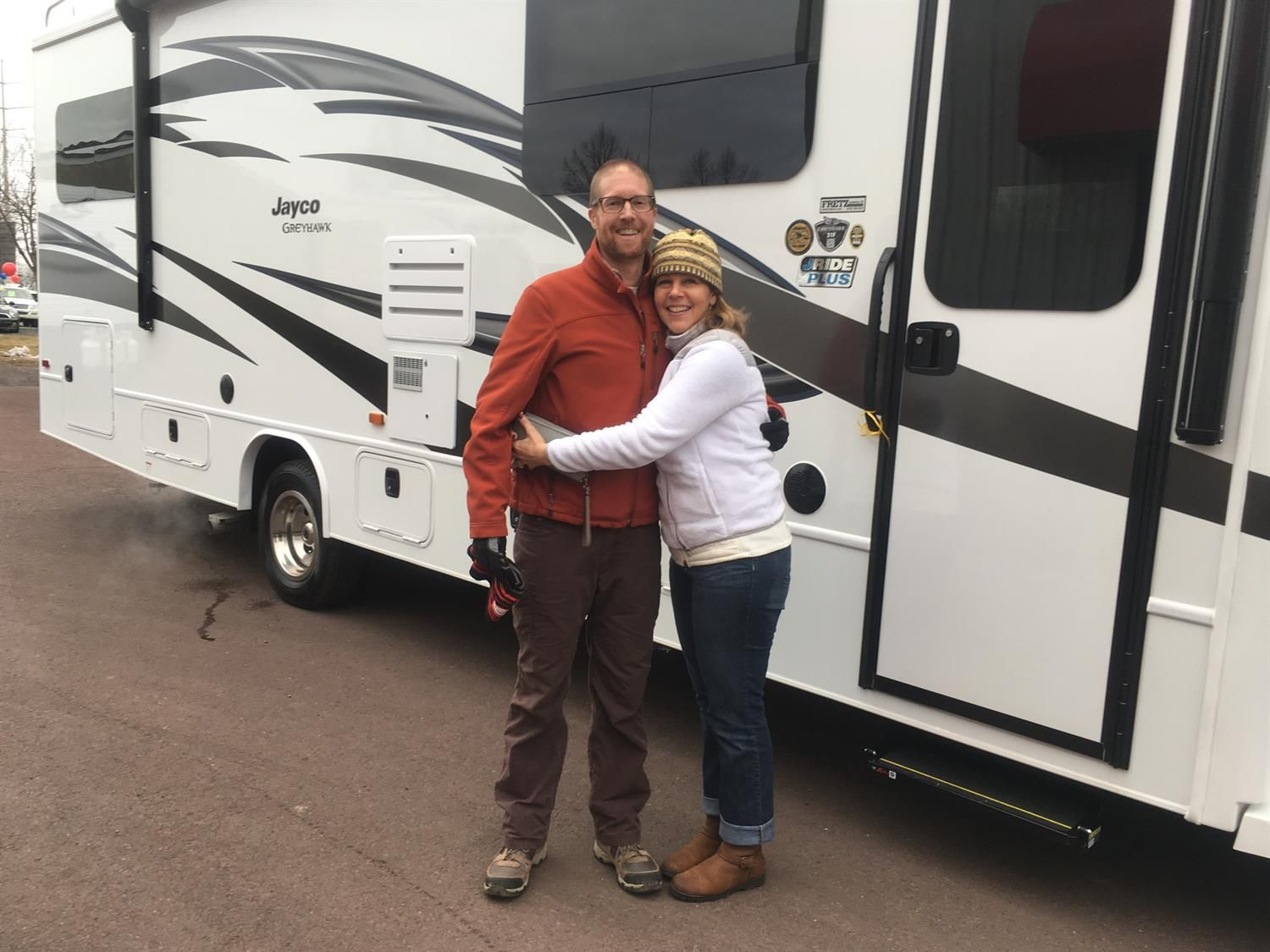 Thank You Greg For The Opportunity To Help You With Your New 2019 Jayco Greyhawk All The Best Fretz Rv And Al Papa Jayco Rv Papa