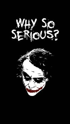 """why so serious wallpaper by FaiziCreation - 6bd8 - Free on ZEDGEâ""""¢"""