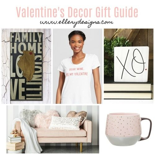 Check out my Valentine's Decor Gift Guide!  #getthelook #ShopStyle #valentines #giftguide #valentinesdecor