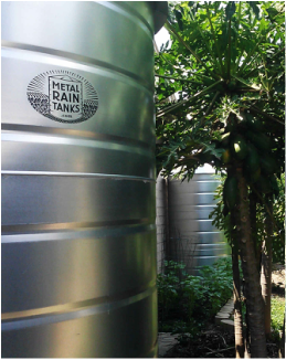 500 800 1000 Gallon Round Galvanized Steel Water Storage Tanks Rain Water Collection Water Storage Tanks Rainwater