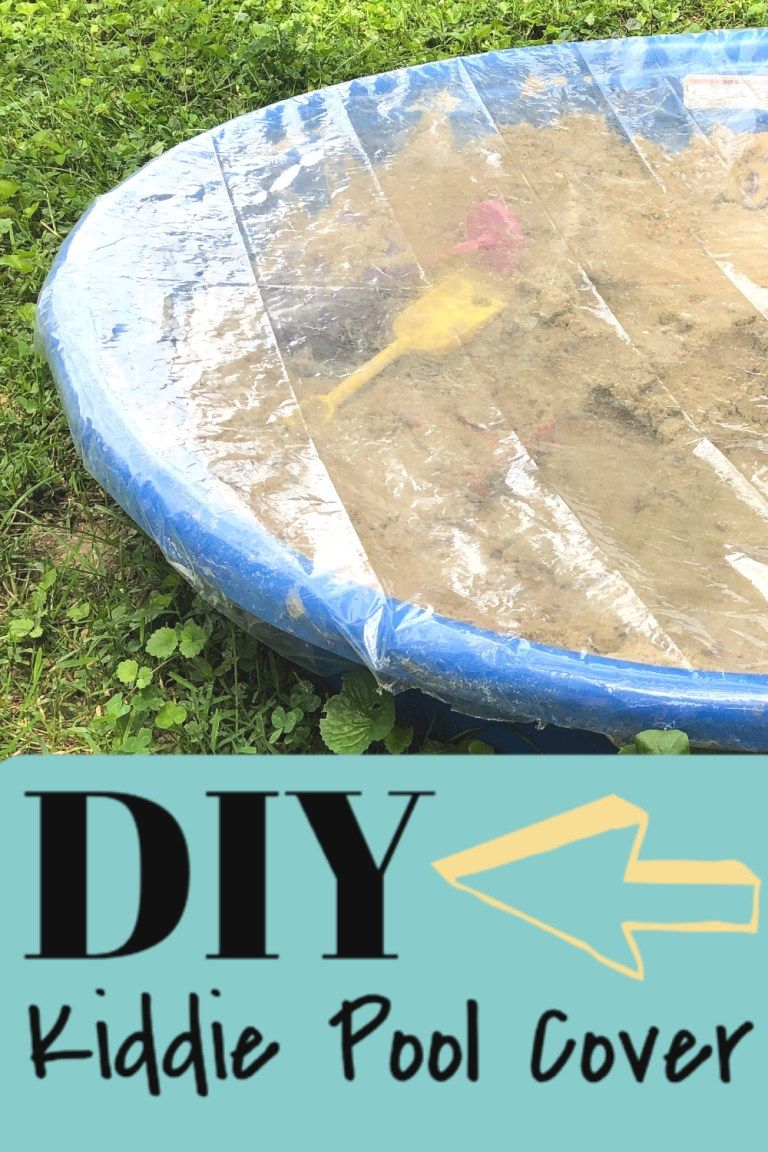 How to make a kiddie pool cover my crafty mom in 2020