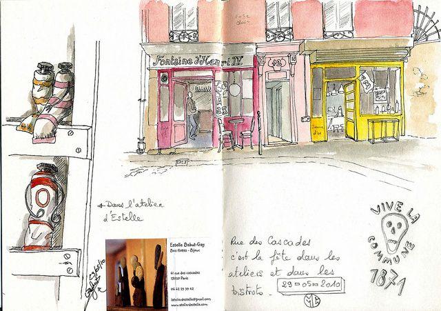 Paris journal by tulipe75