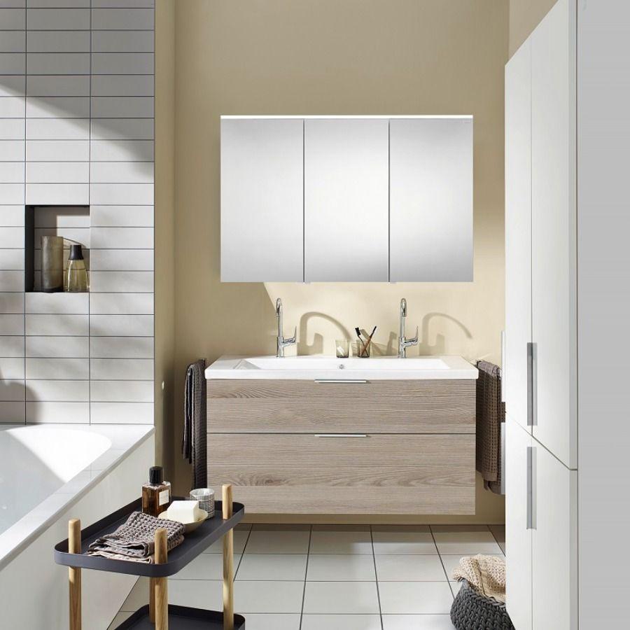 Burgbad Eqio Badmobel Set 123cm Spiegelschrank Keramik Waschtisch Und Unterschrank In 2020 Unterschrank Spiegelschrank Waschtisch