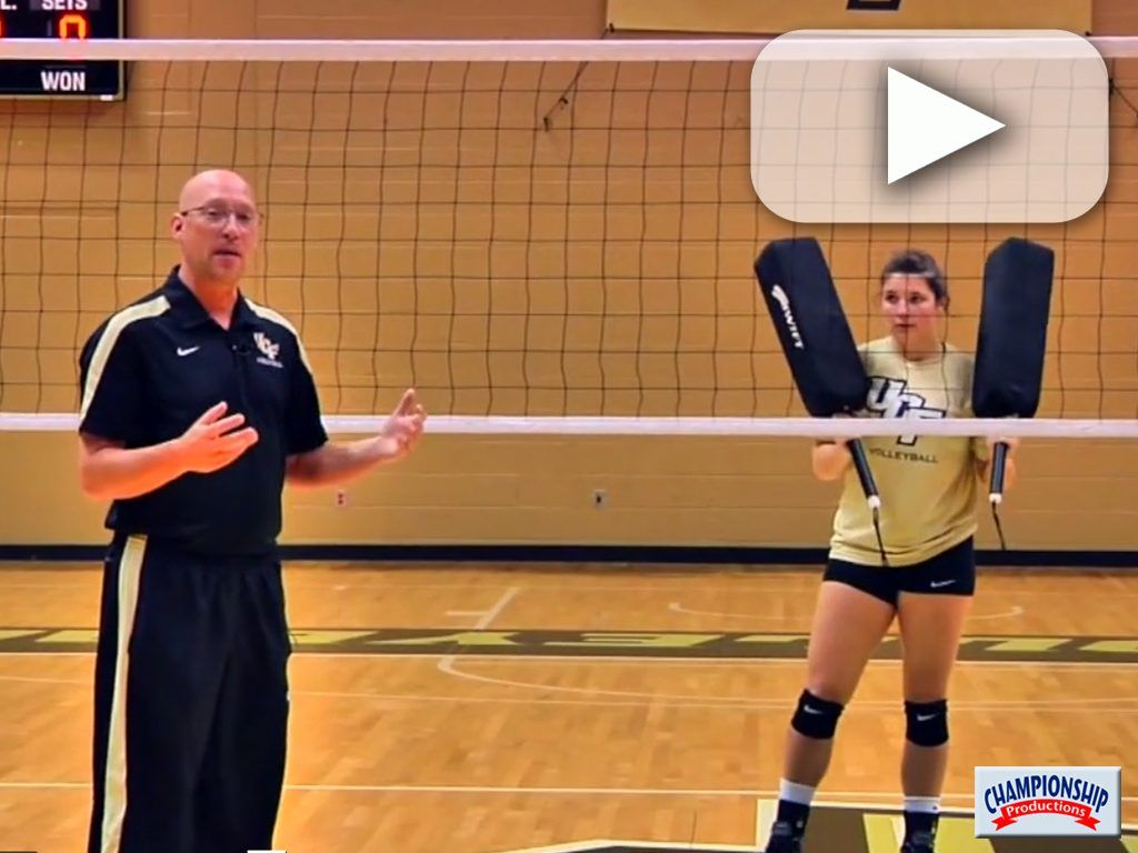 Watch As Coach Dagenais Explains And Setters Demonstrate This Reading The Middle Blocker Drill Coaching Volleyball Volleyball Volleyball Drills