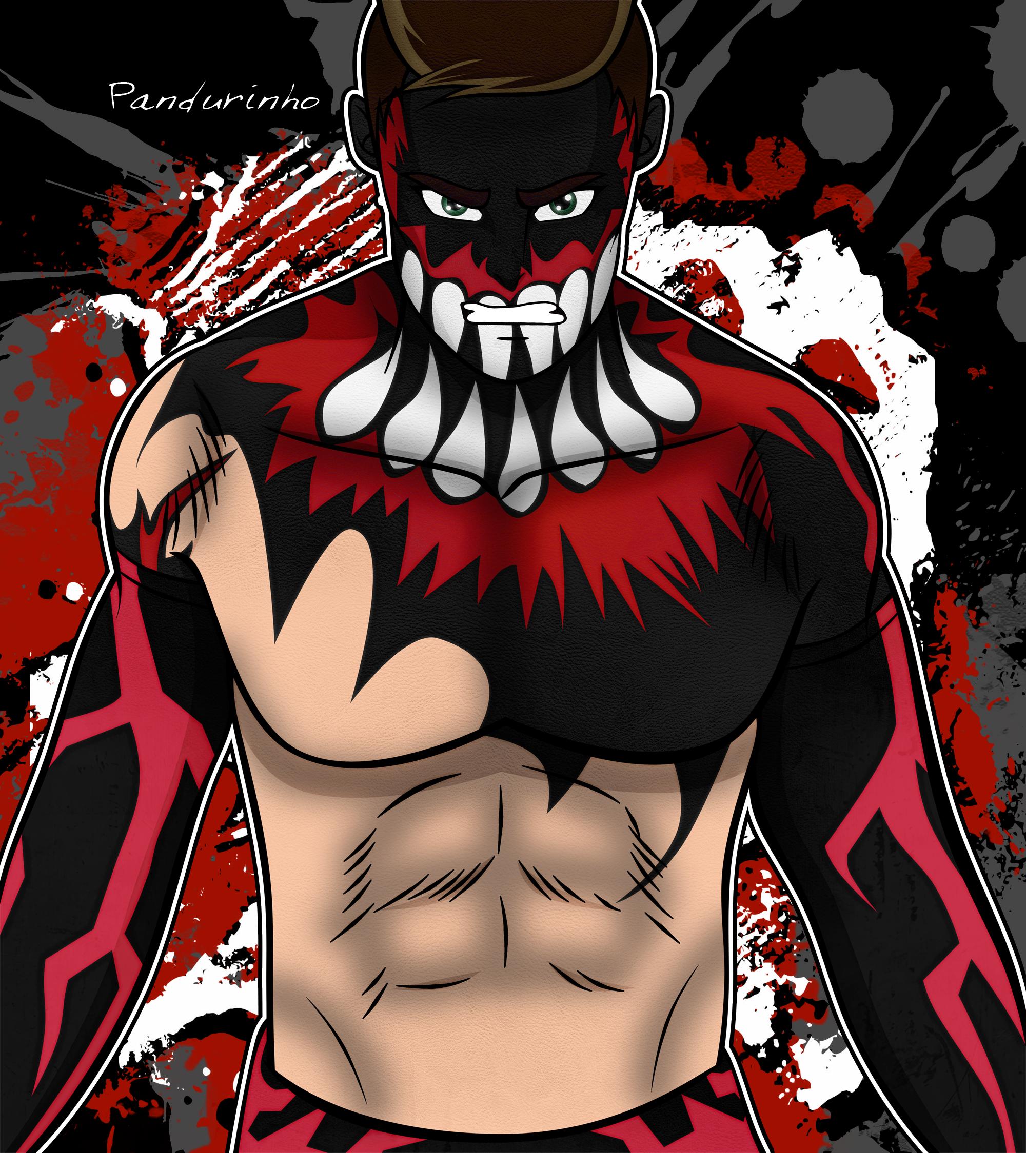 WWE Fan Art Finn Balor | demon king & venom | Pinterest
