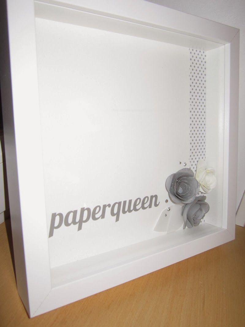 paperqueen: Neue Deko für die Workshop-Ecke!