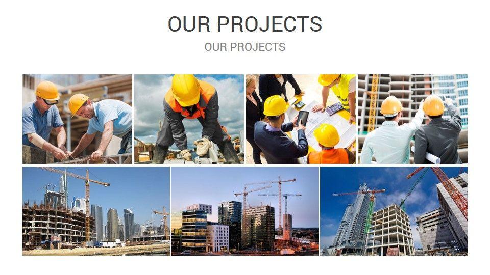 Construction Powerpoint Presentation Template Presentation Slides Templates Presentation Templates Free Powerpoint Presentations