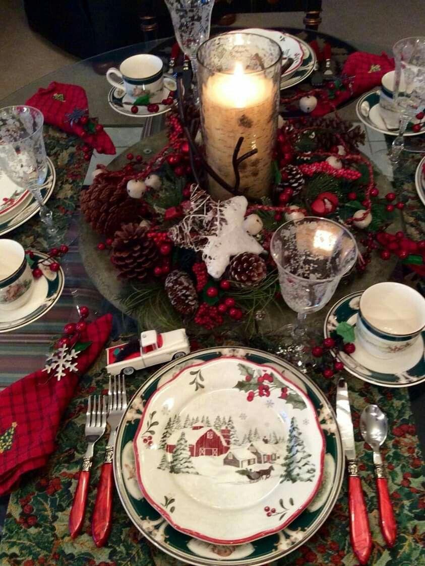 Pin By Marsha Humphreys Badgett On Christmas Decor Ideas Christmas Dinnerware Christmas Table Christmas Brunch