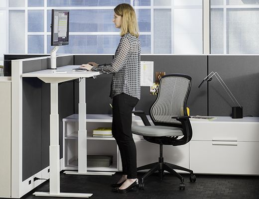 Knoll Tone Height Adjustable Table Furniture Pinterest