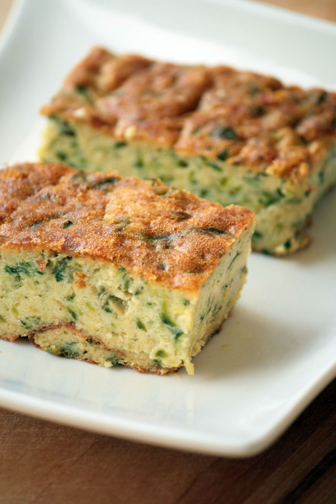 Gâteau De Courgettes Au Basilic Belette Cuisine Plat Legumes