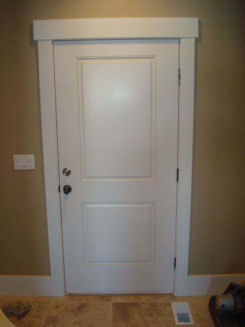 Simple Door Trim Shaker Style Doors Interior Door Trim