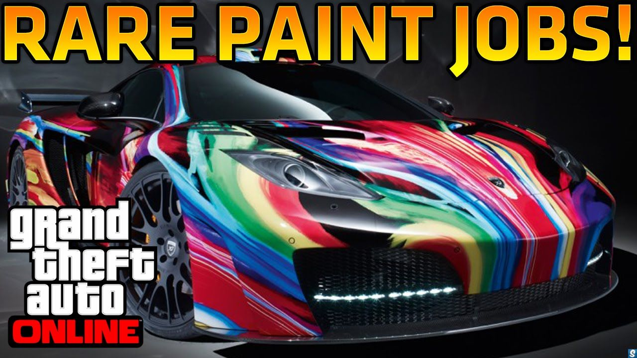 Gta V Paint Job Tron idea gallery