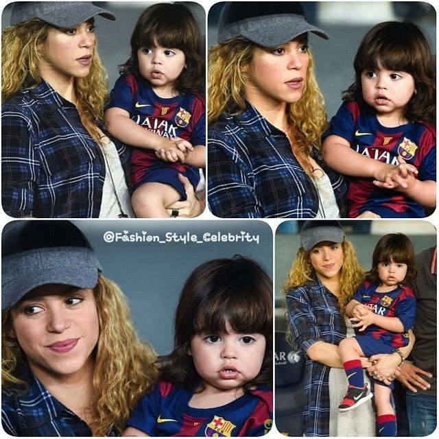 CUTENESS#milan #shakira #gerardpique #football #soccer #cute #sweet #baby #victoriassecret #skinnyjeans #selenagomez #justinbieber #fashion #style #celebrity #celebritylook #fashionista #fashionicon #mensfashion #mensfashionpost #ombre #stylish #lookbook #look #ootd #outfit #handsome #swag... - Celebrity Fashion