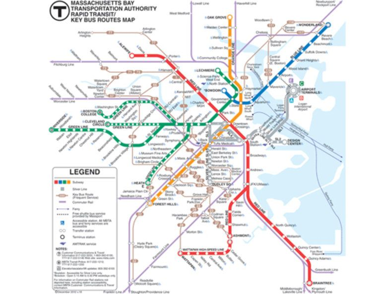 boston public transit map   Google Search | Boston | Pinterest
