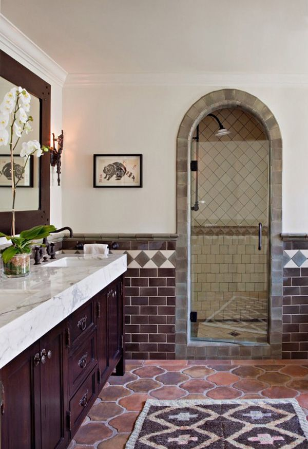 A Mediterranean Style Home Spanish Style Bathrooms Spanish Style Homes Mediterranean Style Homes