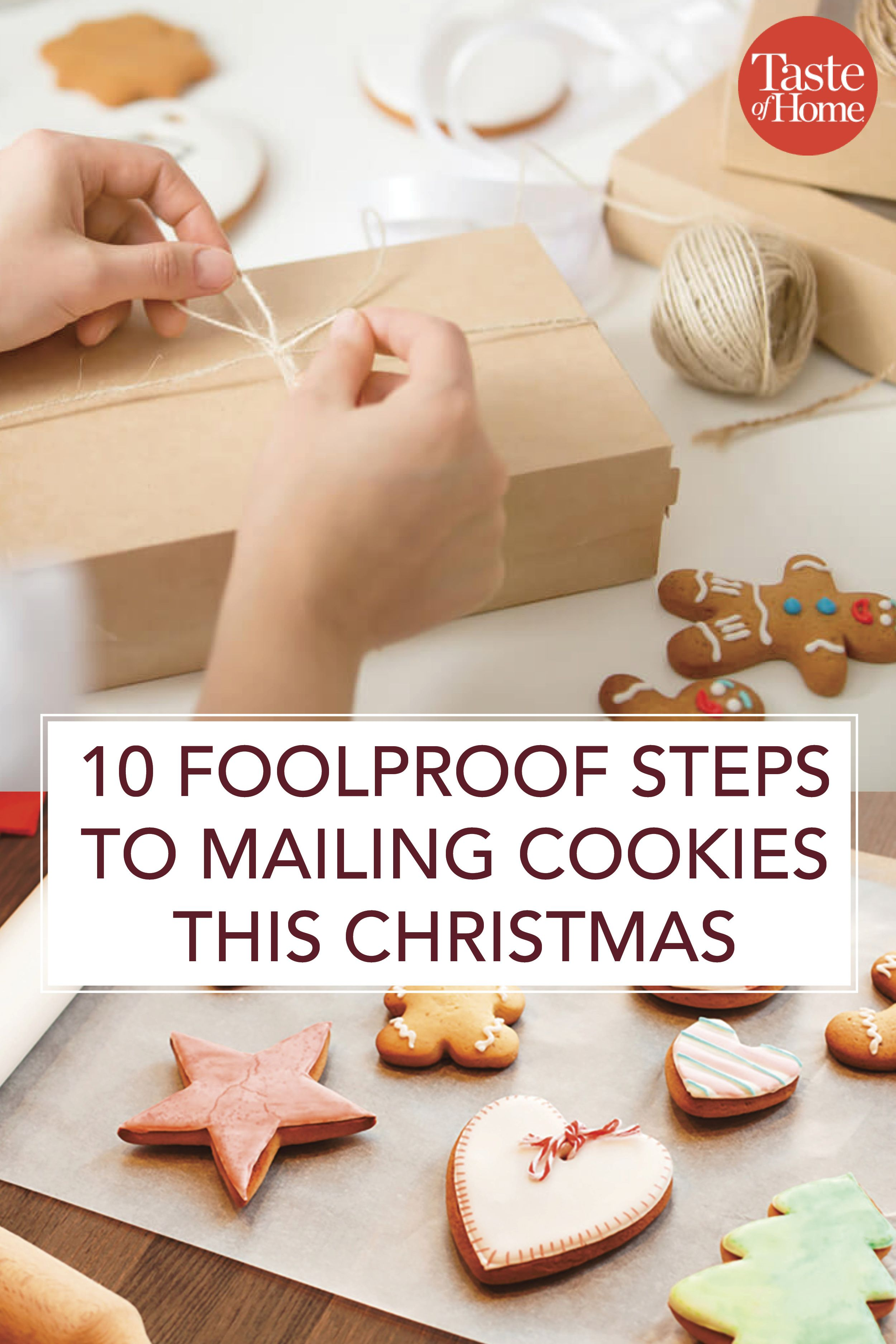 10 Foolproof Steps To Mailing Cookies This Christmas Christmas